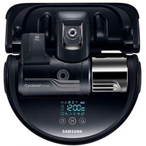 Samsung – sr20k9350w – Aspirateur robot programmable + télécommande POWERBot Cyclone Force