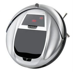 EVERTOP Robot aspirateur Intelligent de nettoyeur aspirateur électrique balais pour les poils des Animaux familiers, la poussière, Dépoussiérage Quotidien (FD-3RSW(IIA)CS)