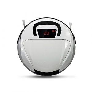 FINE DRAGON Nettoyeur intelligent, aspirateur robot pour sol, aspirateur robot haute puissance, aspirateur sans fil, blanc B