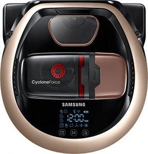 Samsung vr2dm7060wd/CE Aspirateur Robot, 0,3l, 130W, satin doré