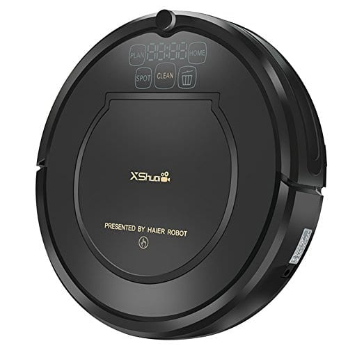 xshuai puissant aspirateur robot avec r cepteur infrarouge. Black Bedroom Furniture Sets. Home Design Ideas