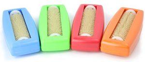 4x Ramasse Miettes Crumpy, miettes Roller Table Roller Balai brosse à tapis Couvertures Brosse Aspirateur Caravan voiture Table kehrer Aspirateur à main Rapido Aspira TUTTO Bleu + Vert + Rouge