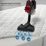 Finether Aspirateur Balai à Main Vacuum Cleaner Multifonctions Portable Pour Nettoyer Canapé Tapis Plancher Mur Verre Fenêtre Rouge avec 5 Accessoires
