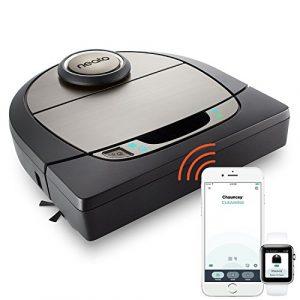 Neato Botvac D7 Connecté Wifi – Aspirateur Robot intelligent avec système de navigation laser & limites virtuelles – Application compatible avec Alexa