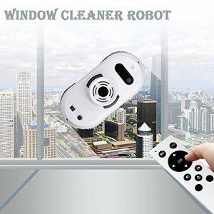 Robot aspirateur Auto clean anti-chute smart fenêtre cleaner nettoyant pour vitres meilleur cadeau pour Noël (Blanc)