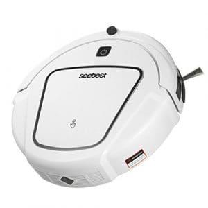 CCYOO D720 Robot Aspirateur Robot Nettoyeur Autonettoyant Machine Intelligente À Balayage Multifonctionnel À Balayage Intelligent,White,EU