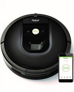 iRobot Roomba 981 Aspirateur Robot Idéal pour les Tapis avec une forte puissance d'aspiration – Power Boost – Navigation plusieurs pièces – connecté en WiFi et Programmable via appli
