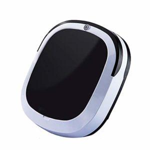 inkeme Aspirateur Robot avec Super Aspiration, Silencieux, idéal pour Animaux, capteurs de poussière, Robot Aspirateur Laveur avec Système de Nettoyage Puissant, Parfait sur Tapis et sols