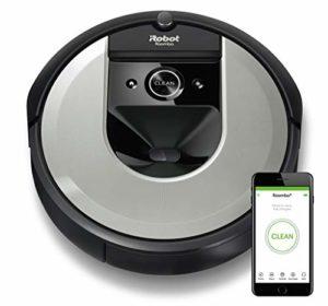 iRobot Roomba i7 – i7156 – Aspirateur robot – cartographie vos pièces, adapté aux poils d'animaux, wifi et contrôle par application