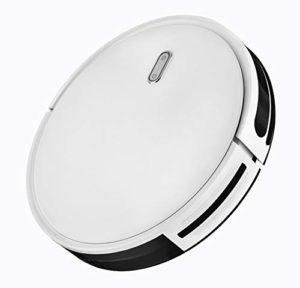 Robot Aspirateur 3 en 1, fonction Balai, Aspirateur et laveur de Sol, avec un Réservoir D'Eau, Fonctionnement facile « 1 Touche », 6 Modes de Nettoyage, charge Automatique, avec Capteurs Anti-Chutes