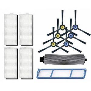 Aiweijia Remplacement Vide Nettoyeur Robot Sol Balayage Filtre Brosse Latérale Rouleau pour ILIFE V8S V80 A7 A9S X750 X785