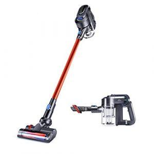 Chlyuan-hm Robot Vacuum Cleane Aspirateur sans Fil 17Kpa Aspirateur Puissant 2 en 1 avec aspirateur Ultra-Silencieux avec aspirateur portatif Brosse Multiple pour Les sols durs et Les Tapis Minces