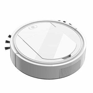 CUHAWUDBA 3 en 1 Robot Automatique sans Fil Aspirateur Balayage USB de Charge Intelligente Paresseux Aspirateur Robots Nettoyeur Robots MéNage Machine