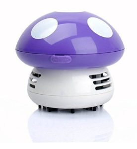 Gearmax® Mignon Mini champignon Bureau Table poussière Aspirateur à main Sweeper – champignon super Mario
