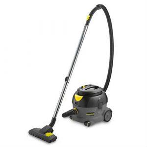 HONGFENG Aspirateur sans Aspirateur sans Sac 410 * 315 * 340cm 56 décibels 12L 1300W aspiration super noir et jaune