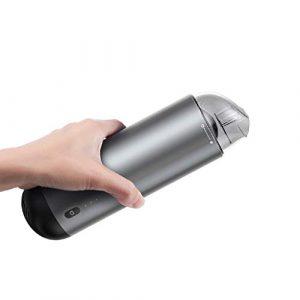 ICE Car Aspirateur Portable sans Fil Automatique Mini Handheld Robot Aspirateur for Voiture Intérieur Dustbuster Accueil Nettoyage Animaux Cheveux (Color : A)
