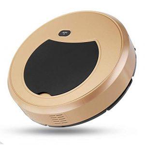 LALABIT Aspirateur 4 in 1 aspirateur Automatique Intelligent Nettoyage Cleaner Sweeper Mop avec télécommande (Couleur : Or, Taille : Taille Unique)