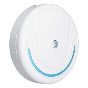 LALABIT Aspirateur Rechargeable Intelligente Aspirateur Automatique Nettoyage des sols Balayer (Couleur : Blanc, Taille : Taille Unique)