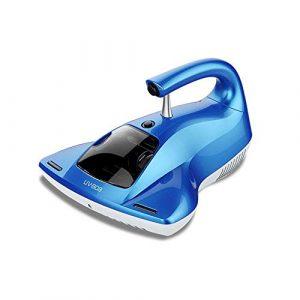 Maybesky Robots Aspirateurs Aspirateur à Main lumière ultraviolette Acariens Vide Balayer Machine Accueil Cleaner (Couleur : Bleu, Taille : Taille Unique)