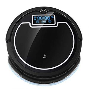 Robot Aspirateur multifonction, (et humide sec Mopping) Robot Cleaner Aspirateur avec écran tactile Réservoir d'eau Big Mop Schedule Blocker virtuel