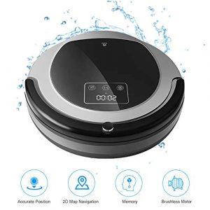 Robot B6009 Aspirateur, Carte De Navigation, Smart Memory, Aspiration 3000Pa, Lampe UV Double, Humide Sec Mop, Wifi App Aspirador
