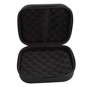 Topiky Organisateur de boîtier de Voyage pour Dyson, Support d'accessoires pour têtes de Nettoyage pour aspirateur à Main Dyson V7 V8 V10 V11-Black – Noir