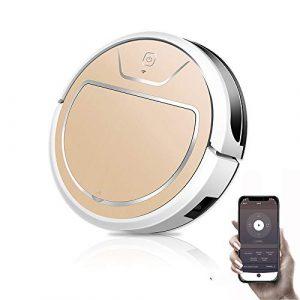 W Aspirateur Robot pour La Maison Automatique Balayer La Poussière Intelligente Prévu Mobile App Télécommande