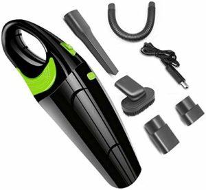 Zmsdt Aspirateur à main, sans fil à vide à la main avec haute puissance, Mini Aspirateur à main Propulsé par Li-ion rechargeable Charge rapide Tech, for la maison et nettoyage de voitures, Wet & Dry –
