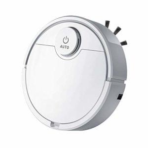 LAYX Etage Intelligent Aspirateur Robot, 3 en 1 Multifonction USB Robot De Nettoyage Automatique De L'aspiration Balayeuse Wet Dry Balayeuse pour Ménage