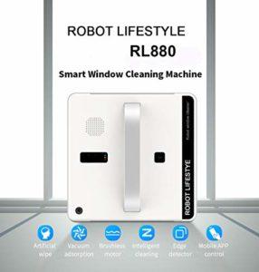 WNTHBJ Aspirateur Robot fenêtre Smart Cleaner Type d'application prévu WiFi contrôle Fenêtre en Verre Robot Nettoyeur de 100-240V
