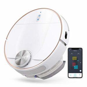 eufy by Anker RoboVac L70 Hybrid aspirateur robot, navigation iPath Laser, aspirateur et serpillère 2 en 1, Wi-Fi, puissance 2200Pa, silencieux