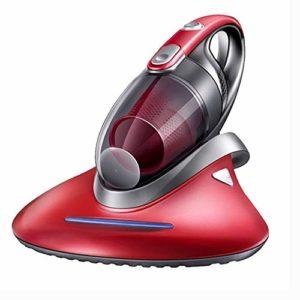 JJLL Aspirateur sans Fil de Voiture, Ménage Deodorizer, UV Germicide Lit de collecteur de poussière, Rouge (39×29.2x19cm)