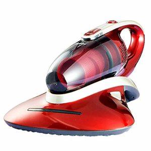 JJLL Aspirateur sans Fil de Voiture, Ménage Lit de stérilisation UV Handheld, Rouge (39×29.2x19cm)