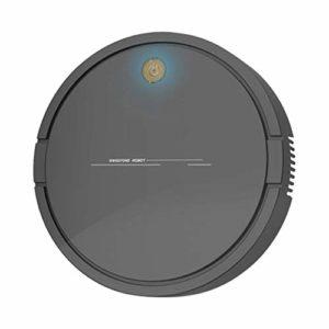 Mdsfe Aspirateur Robot Intelligent USB de Charge ménage sans Fil Robot de Balayage dépoussiérage aspirateur de Cheveux – Noir, A2