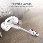 SMLZV Bâton Aspirateur sans fil, 2-in-1 vertical et aspirateur à main avec Extra Long 40 minutes Durée, 2200mAh batterie rechargeable au lithium, for Moquette Animaux cheveux voitures