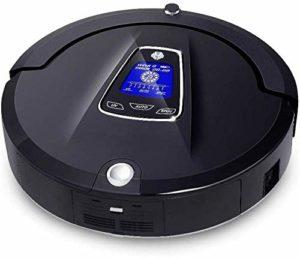 asdasd Robot de Nettoyage Aspirateur Robot sans Fil pour la Maison (Stérilisation à la vadrouille à Balayage) Planificateur Virtual Blocker SelfCharg Black (Couleur: Noir)-Noir
