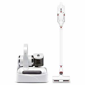 Aspirateur sans fil nettoyeur Aspirateur – blanc de ménage avec une combinaison ordinateur de poche projecteur aspirateur sans fil multi-fonctions ensemble puissant aspiratuer balai RVTYR