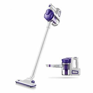 Aspirateurs robotiques 2 In1 Aspirateur à Main sans Fil Vertical léger et Compact Aspirateur for Home Aspirateur (Color : Purple, Size : One Size)