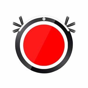 Che Automatique Smart Robot Aspirateur Vadrouille Balayage Aspiration Balayeuse sans Fil Auto Balayeuse Machine Anticollision pour Le Nettoyage À Domicile, Rouge, EU