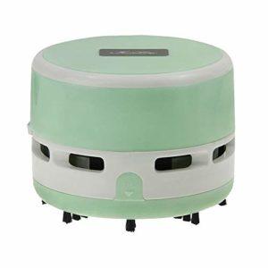 Mini Aspirateur de Table Portable Aspirateur de Bureau Poussière Robot Aspirateur à Main sans Fil Rechargeable Léger pour Table Bureau Coussin Voiture Canapé Maison Animaux Ménage