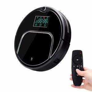 Robot Aspirateur, Anti Collision Anti chute, auto charge, le contrôle à distance, Auto Clean, Super Quiet, Machine Cleaner tapis pour animaux cheveux, plancher dur, tapis