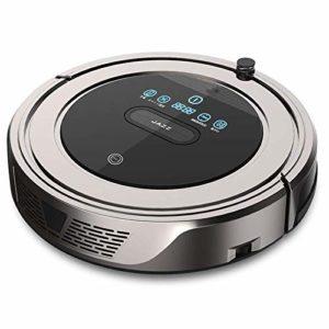 Robot Aspirateur Nettoyage Robot Balayer Robot Nettoyeur automatique à vide Intelligent ménagers Machine à balai à franges ultra-mince Mute, café (Couleur: Or café) (Color : Coffee Gold)