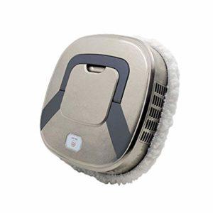 Robot aspirateur sans marque imitant l'effet d'essuyage à la main du sol, humide et sec, absorbant les poils d'animaux, désinfection ultraviolet