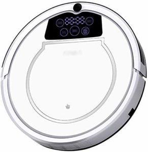 SEESEE.U Aspirateur Robot Auto Sweeper Auto-Charge 1000Pa Aspiration Forte connecté et programmable Via l'application 3.3in Super Thin Silencieux Anti-Fall Bon pour Les planchers de Bois Franc Carrel