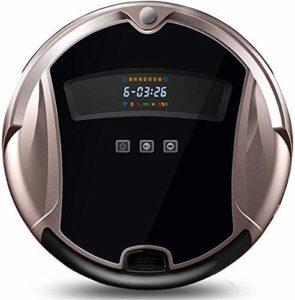 SEESEE.U Aspirateur Robot Auto-rechargeant 1200Pa à Forte Aspiration 4 Modes de Nettoyage Mince Super Silencieux avec Anti-Chute avec télécommande pour Les Carreaux de Tapis de Plancher de Bois Dur p