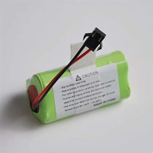 Without brand FJY-BATTEERY, 1pc 12V 11.1V 2600mAh Lithium ION Batterie Li-ION Cellule Remplacer for Ecovacs CEN330 Aspirateur Robot Balayer
