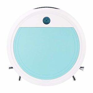 Aspirateur Robot, Chargeur USB balayeuse Intelligente, stérilisation Ultraviolet Ultra-Faible Bruit boîte à poussière Grand, Rose/Violet/Bleu,Bleu
