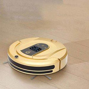 AYCPG Robot de Balayage Intelligent, ménage Charge Aspiration de Balayage et Un Balai Trois-en-Un Nettoyeur Automatique Robot Aspirateur épongeant Or hfhdqp
