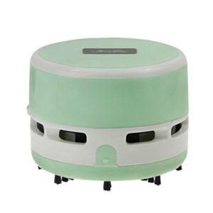 YJZQ Aspirateur de Table Aspirateur Robot Aspirateur à Main sans Fil Rechargeable Léger pour Voiture Table Bureau Canapé Maison Animaux Ménage