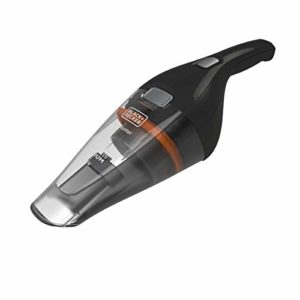 BLACK+DECKER NVC115BJL-QW, Aspirateur à Main sans Fil 3,6 V, Chargeur par Prise Jack, 8 W, Noir, 325 milliliters